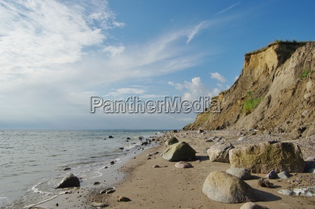 cliffs between the baltic seaside schoenhagen