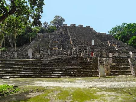 tempio giungla piramide messico maya