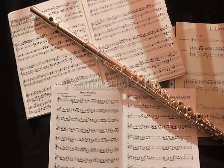 musica composizione argento note musicali canzone