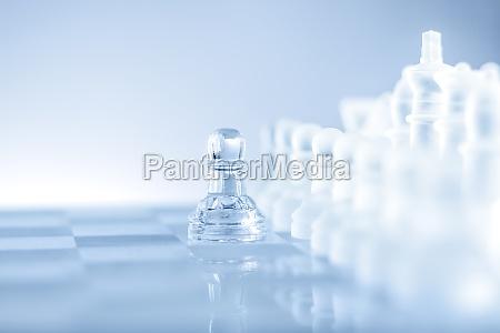 negoziare battaglia scacchi gioco degli scacchi