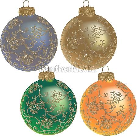 decorazione natale albero di natale palla
