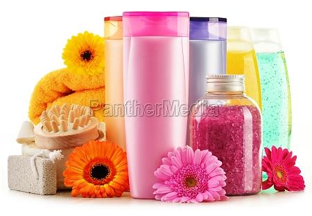bottiglie di plastica per la cura