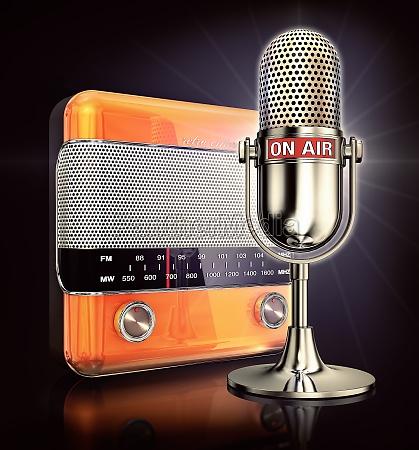divertimento musica radio trasmettere per radio