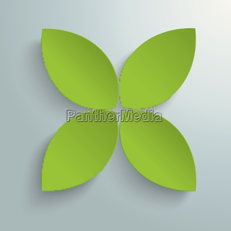 green cross leaves piad