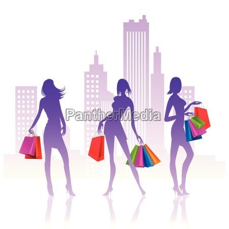 donna donne moda signora negozio comperare