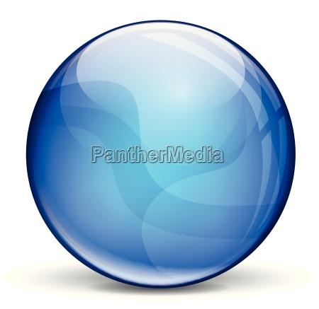 scuro bolla blu