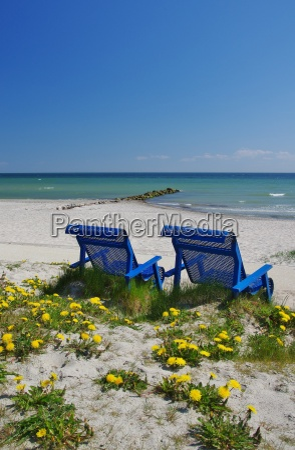 staying on the beach of kellenhusen