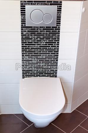 wc appeso a parete