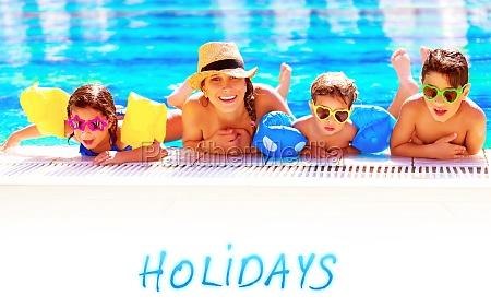 vacanza vacanze estate mamma madre contento