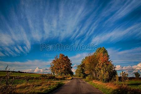 cielo firmamento nuvole autunno