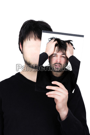 virile mascolino fuori falso maschio sconvolto
