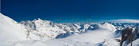 montagne inverno alpi austria ghiacciaio prealpino