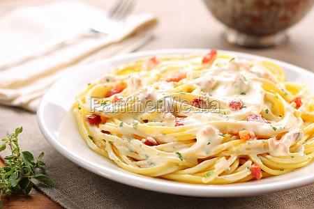 cibo cucina spaghetti tagliatelle pasto pasta