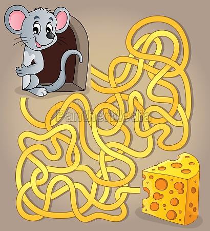 maze 1 con il mouse e