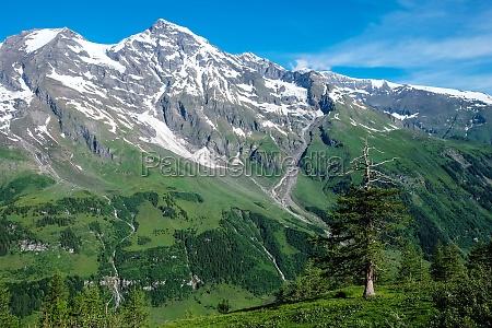 alpi vertice austria picco vetta ghiacciaio