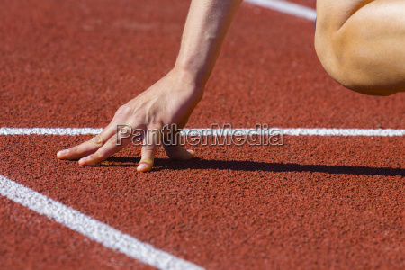 mano mani dettaglio sport dello sport