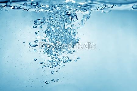 priorita bassa delle bolle di acqua