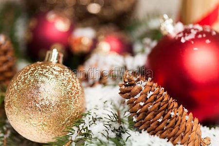 albero inverno palla di natale stagione