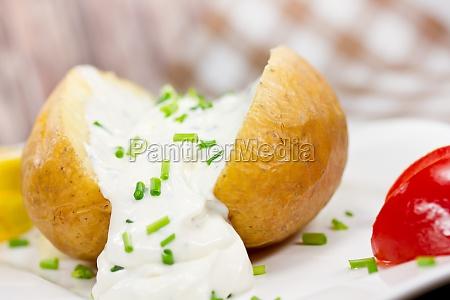 patate al forno con ricotta
