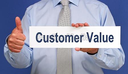 valore del cliente