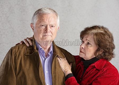 concerned, senior, couple - 11975996