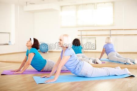 esercizio di stretching