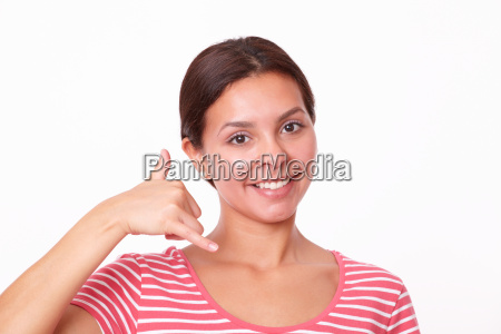 donna telefono gesto persone popolare uomo