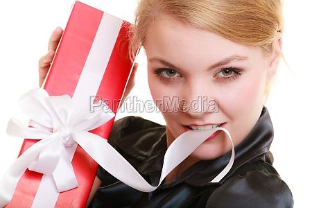 donna scatola scatolame cassone cofano natale