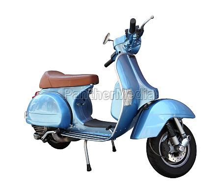 scooter classico isolato su uno sfondo