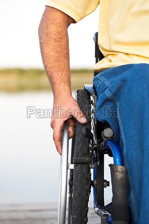 sedia a rotelle salute liberta ponte