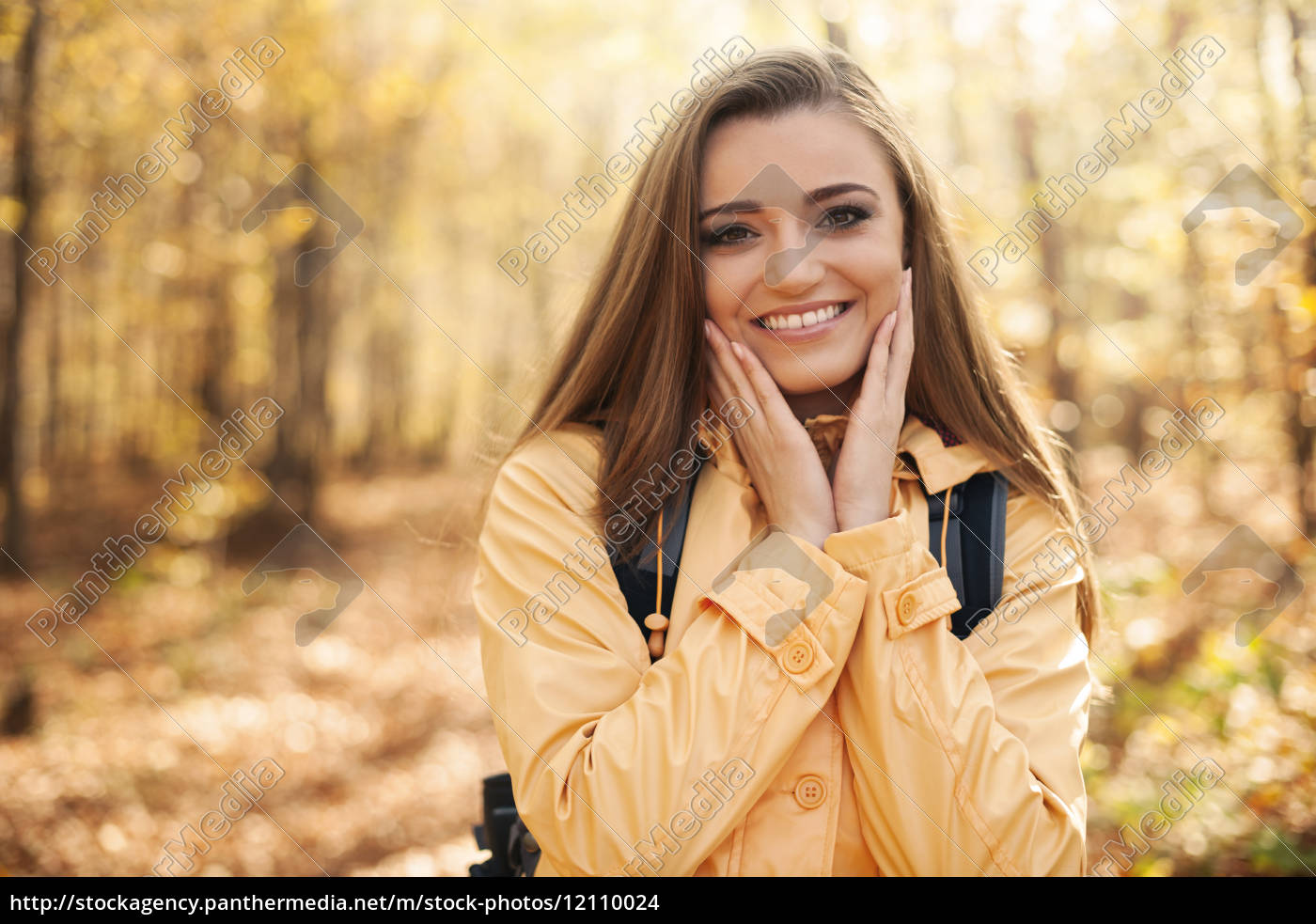 portrait, of, young, happy, woman, during - 12110024