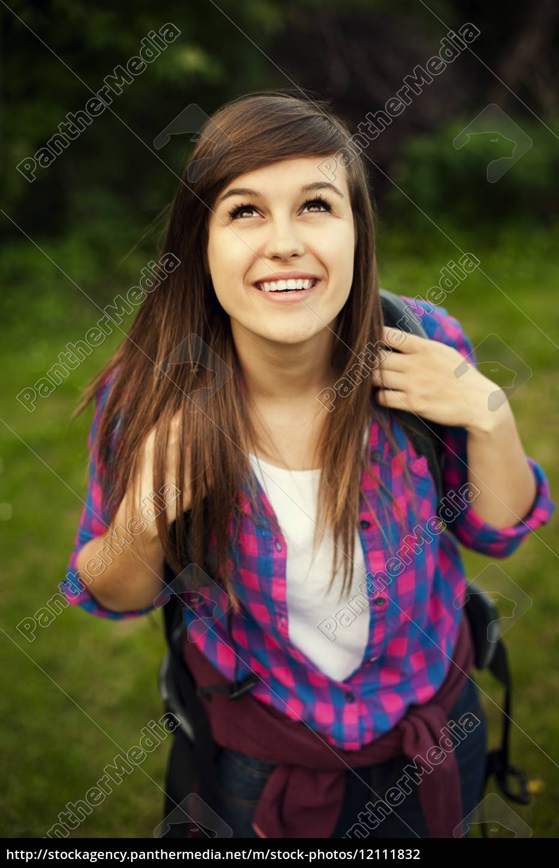 bellissima, escursionista, femminile - 12111832