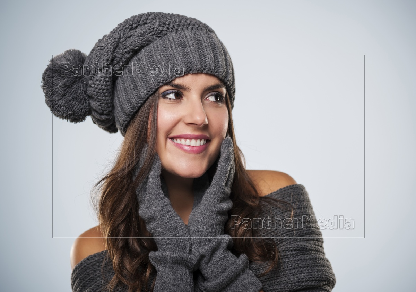 splendida, giovane, donna, che, indossa, abiti - 12112648