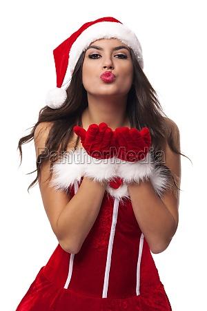 beautiful and sexy mrs santa claus