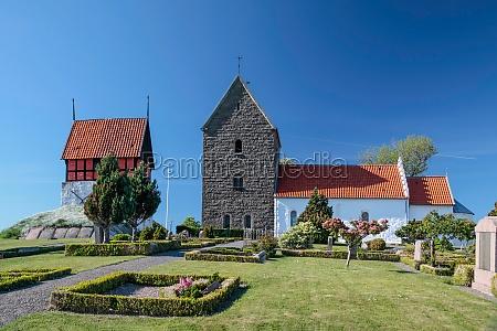 historic church ruts kirke on bornholm