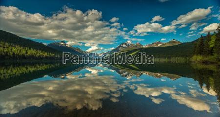 parco nazionale riflesso america tranquillo acqua