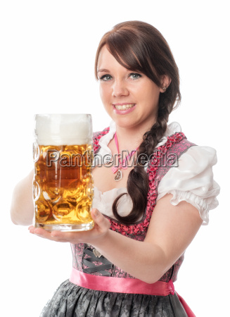 sweet bayrin with mug of beer