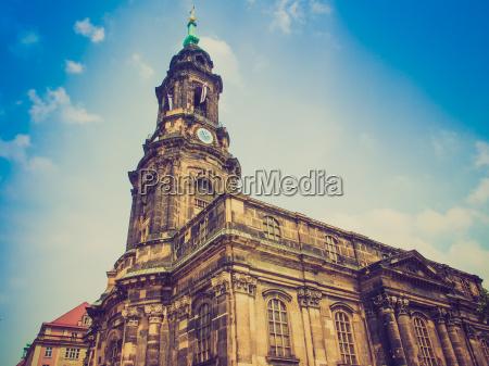 chiesa croce europa classico dresda stile