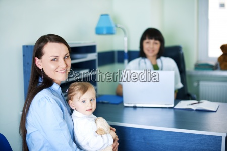 mother and her daughter at the