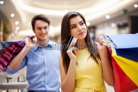 focus, giovane, donna, in, possesso, di - 12352290