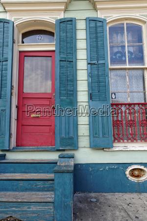 french quarter door