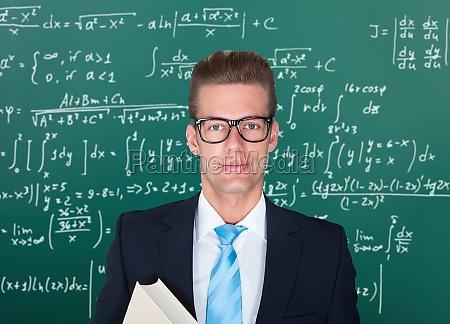portrait of male professor