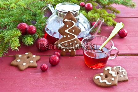 te tea biscotti punzone grog natale