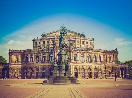 europa dresda stile di costruzione architettura