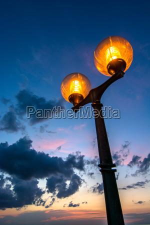 luce notte buio oscurita potenza elettricita