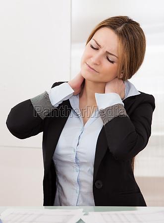 donna ufficio dolore affare affari lavoro