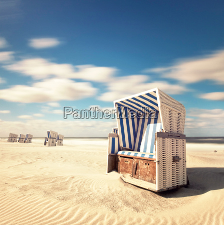 beach chair on sylt