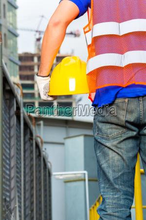 casa costruzione avoro fabbrica proteggere casco