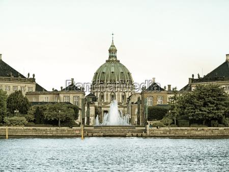 palazzo reale amalienborg cattedrale danimarca