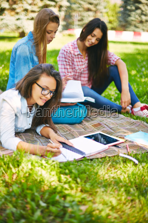 studenti universitari occupati